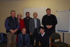 Délégation Japonaise à la rencontre de la FDSEA 22