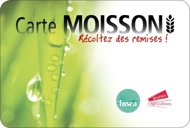 Carte Moisson
